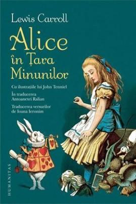 Alice în Ţara Minunilor (cu ilustrații de John Tenniel)