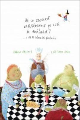<i>De ce zboară vrăjitoarele pe cozi de mătură? ... și alte 10 întrebări fantastice</i> - Adina Rosetti