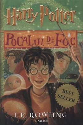<i>Harry Potter şi pocalul de foc</i> - J.K. Rowling