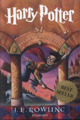 <i>Harry Potter şi piatra filozofală</i> - J.K. Rowling