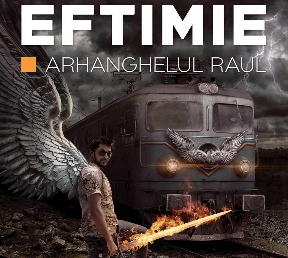 """Lectură inedită din """"Arhanghelul Raul"""", de Ovidiu Eftimie"""