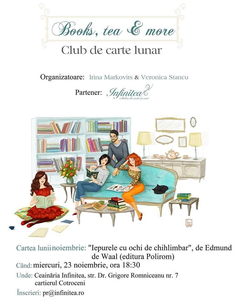 "Books, tea & more: ""Iepurele cu ochi de chihlimbar"""