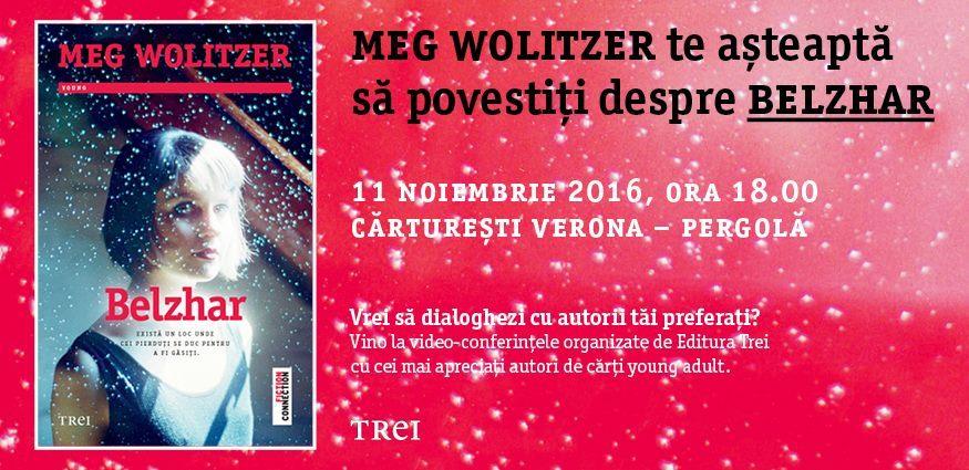"""Meg Wolitzer te așteaptă să povestiți despre """"Belzhar"""""""