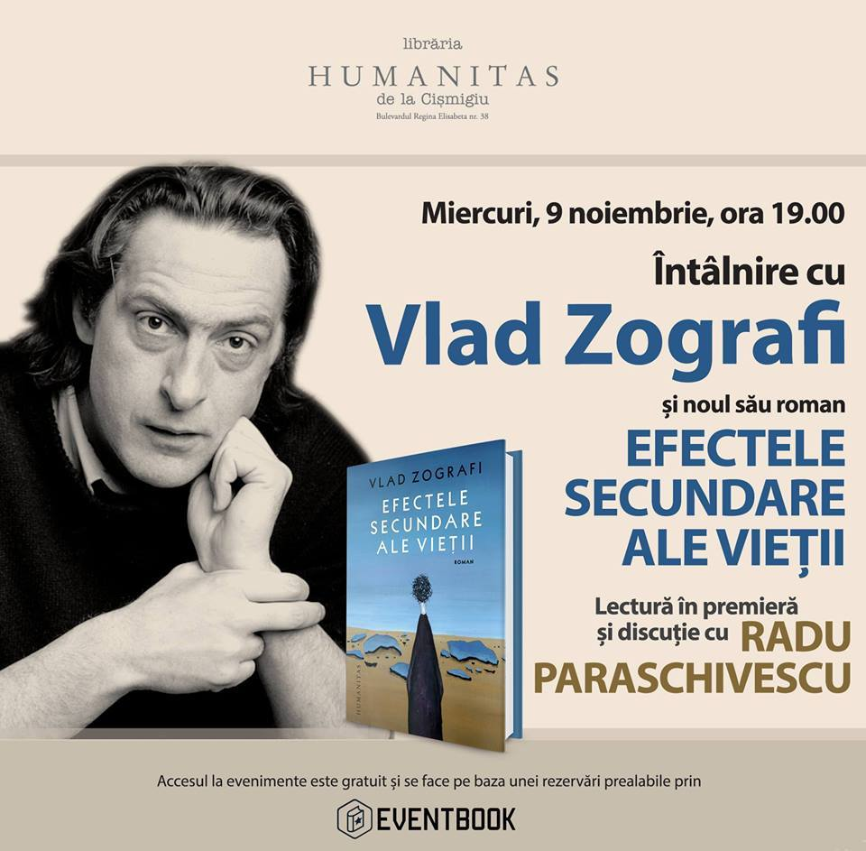 """Vlad Zografi despre """"Efectele secundare ale vieţii"""""""