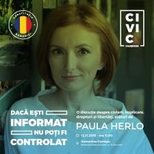 Constituția României le vorbește liceenilor pe limba lor la Civic Fanbook!