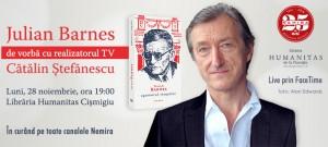 Julian Barnes de vorbă cu realizatorul TV Cătălin Ștefănescu