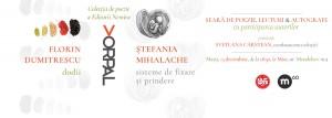 PoeM60: seară de poezie cu Ștefania Mihalache&Florin Dumitrescu