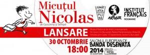 """""""Micuțul Nicolas"""", lansare la Salonul European de Bandă Desenată"""