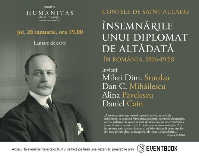 Memoriile contelui de Saint-Aulaire – România, 1916–1920
