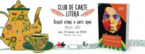 "Club de carte Litera #27: ""Scurtă istorie a șapte crime"", de Marlon James"