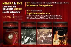 """Colecția """"Yorick"""" a Editurii Nemira, la Festivalul Național de Teatru 2014"""