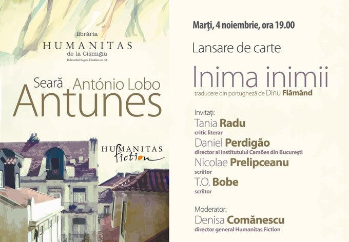 Seară António Lobo Antunes