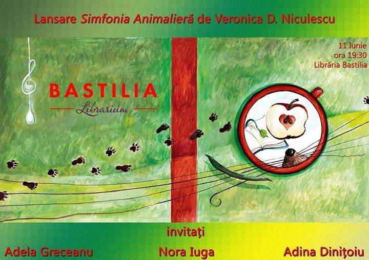 """Lansare """"Simfonia animalieră"""" de Veronica D. Niculescu"""