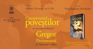 Campionatul poveștilor cu Gregor Pământeanul