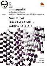 Institutul Blecher, ediția 95 – Întâlnirea cu Nora Iuga, Diana Caragiu și Adelina Pascale