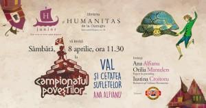 """Campionatul poveștilor cu """"Val și Cetatea Sufletelor"""""""