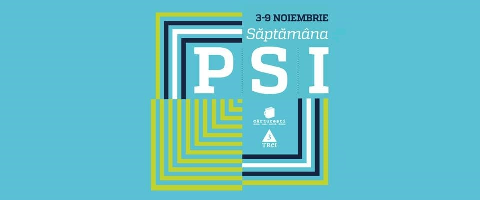 Săptămâna PSI la Cărtureşti (3-9 noiembrie 2014)