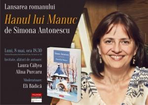 """Lansare de carte - """"Hanul lui Manuc"""", de Simona Antonescu"""