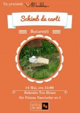 Schimb de Cărți București. Ediția lunii Mai 2017
