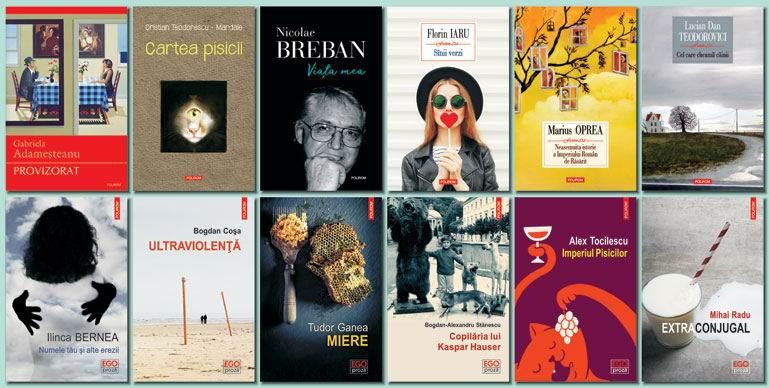 Polirom: Ofertă bogată de literatură română la Bookfest 2017