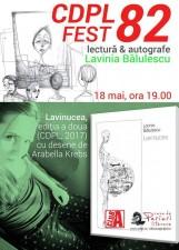 CDPL FEST 82 - lectură Lavinia Bălulescu