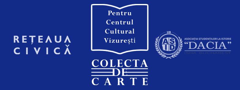 Colectă de carte pentru Centrul Cultural Vizurești