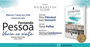"""Fernando Pessoa: """"Vecin cu viaţa. Poezia ortonimă 1911-1935"""""""
