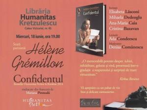 Seară pariziană, Hélène Grémillon - Confidentul