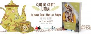 """Club de carte Litera #31: """"Io contra Statele Unite ale Americii"""", de Paul Beatty"""