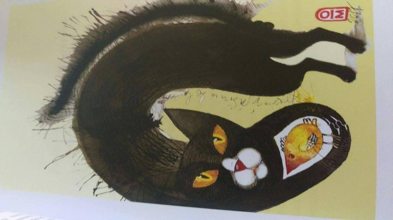 Literatură și pisici în Grădina Cărturești Verona