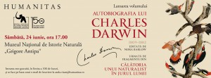 "Lansare: ""Autobiografia lui Charles Darwin"""
