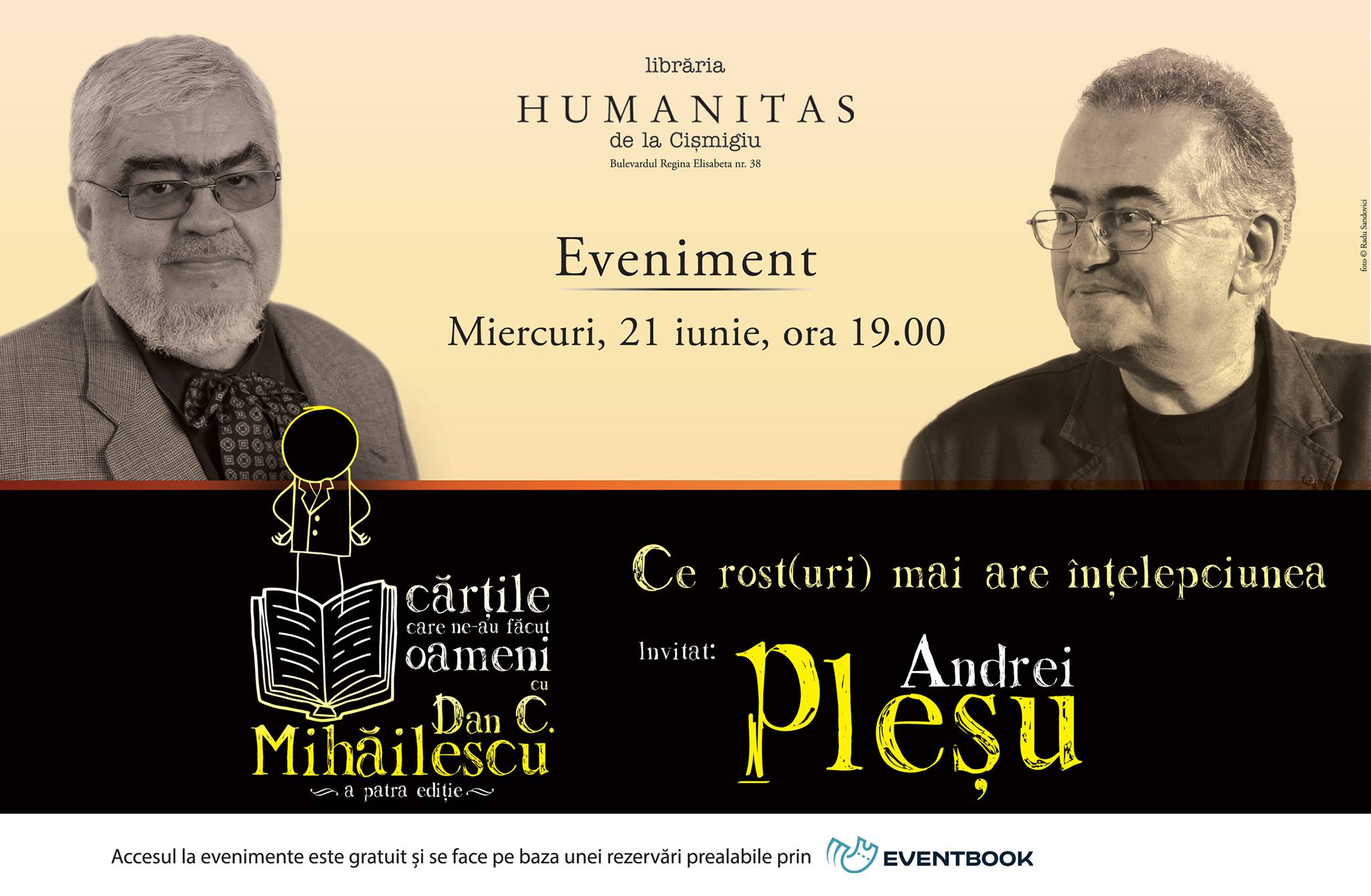 Andrei Pleşu în dialog cu Dan C. Mihăilescu