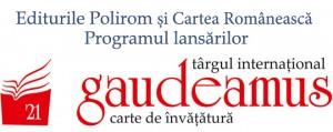 Evenimentele Editurilor Polirom și Cartea Românească la Gaudeamus 2014