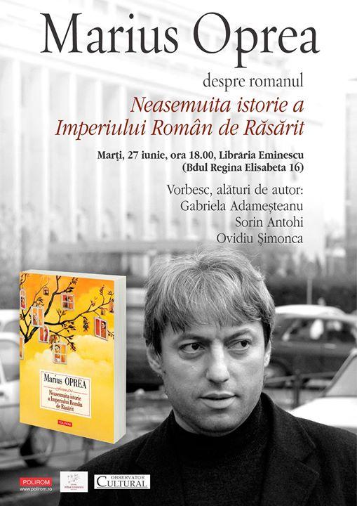 """Lansare """"Neasemuita istorie a Imperiului Român de Răsărit"""""""