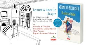 """Veronica D. Niculescu citește din """"O vară cu Isidor"""""""