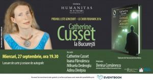 Catherine Cusset la București