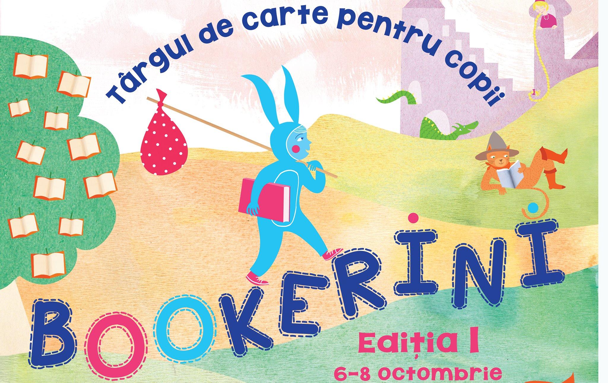 BOOKerini - Târg de carte pentru copii