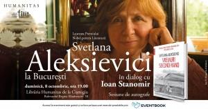Întâlnire cu Svetlana Aleksievici, la București