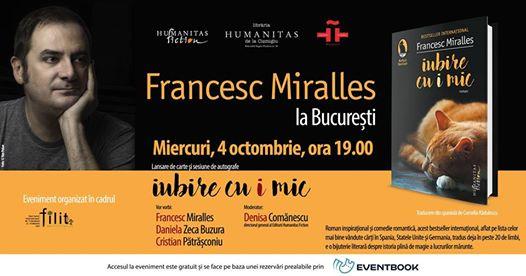 Francesc Miralles la Bucuresti