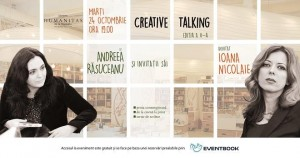 Creative Talking cu Andreea Răsuceanu și Ioana Nicolaie