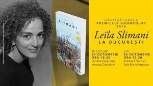 Leïla Slimani la București