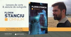 """Lansare de carte: """"Omnium"""", de Florin Stanciu"""