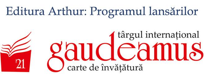Editura Arthur la Gaudeamus 2014