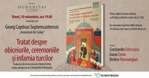 Lansare specială - Tratatul lui Georg Captivus Septemcastrensis