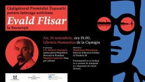 Celebrul scriitor sloven Evald Flisar vine la București