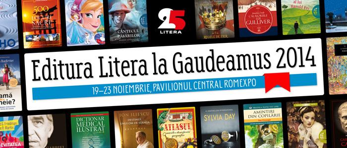 Editura Litera la Gaudeamus 2014