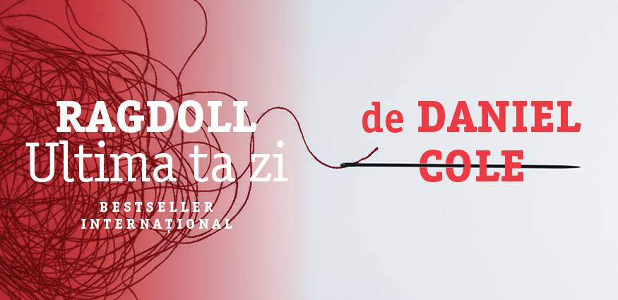 "Clubul de carte Nordic Noir: ""Ragdoll"", de Daniel Cole"