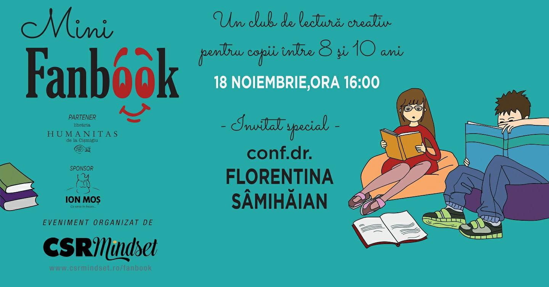 MiniFanbook: Club creativ de lectură pentru copii (8-10 ani)