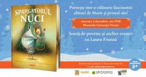 Seară de poveste și atelier creativ cu Laura Frunză