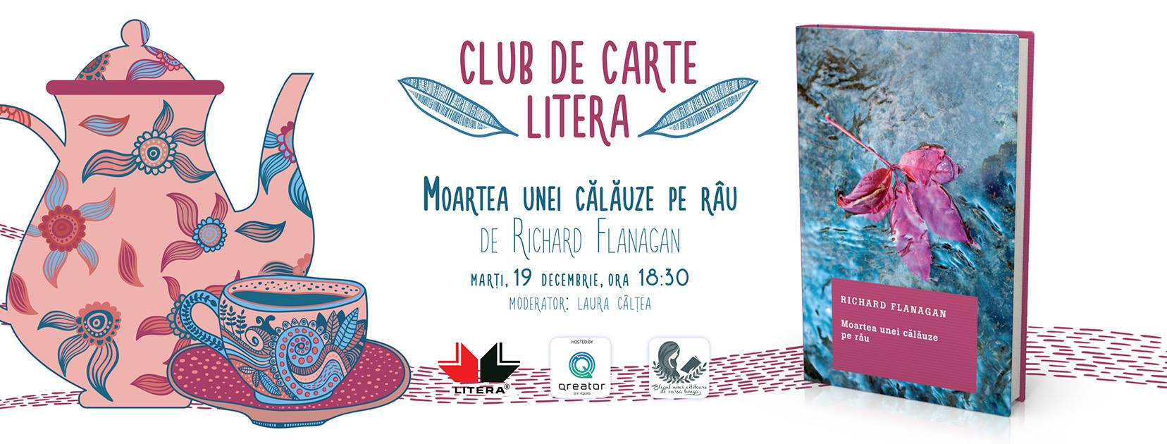 """Club de carte Litera #37: """"Moartea unei călăuze pe râu"""""""